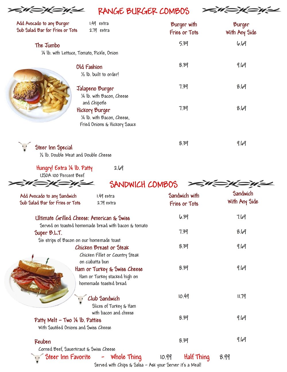 Steer Inn Menu Mannford 2016 - 2.jpg