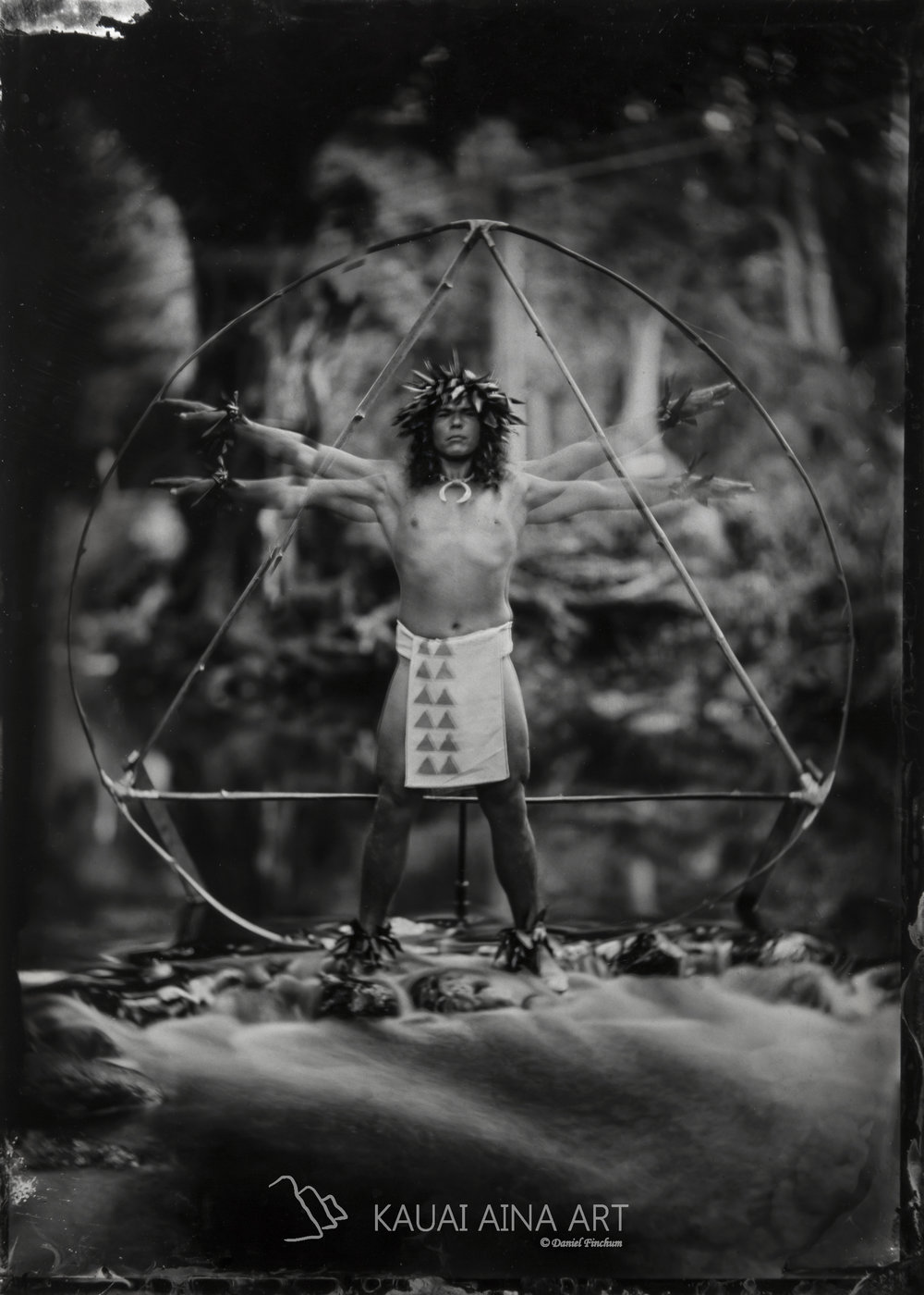 Hawaiian Vitruvian Man