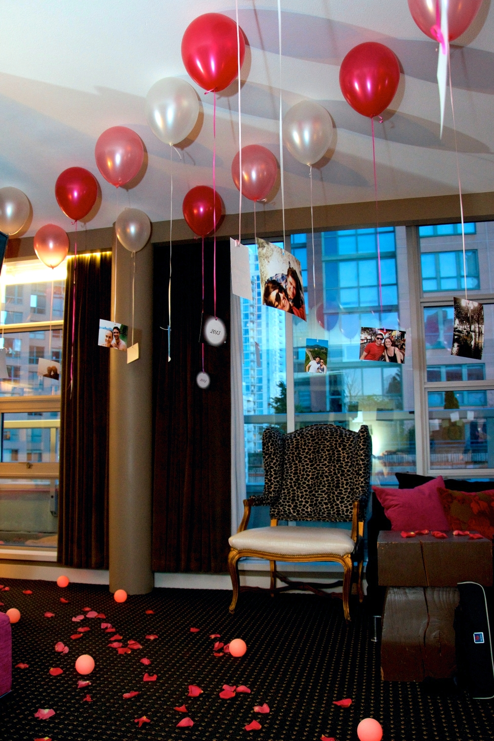 5 ideas for an unforgettable marriage proposal surprise for B day decoration at home