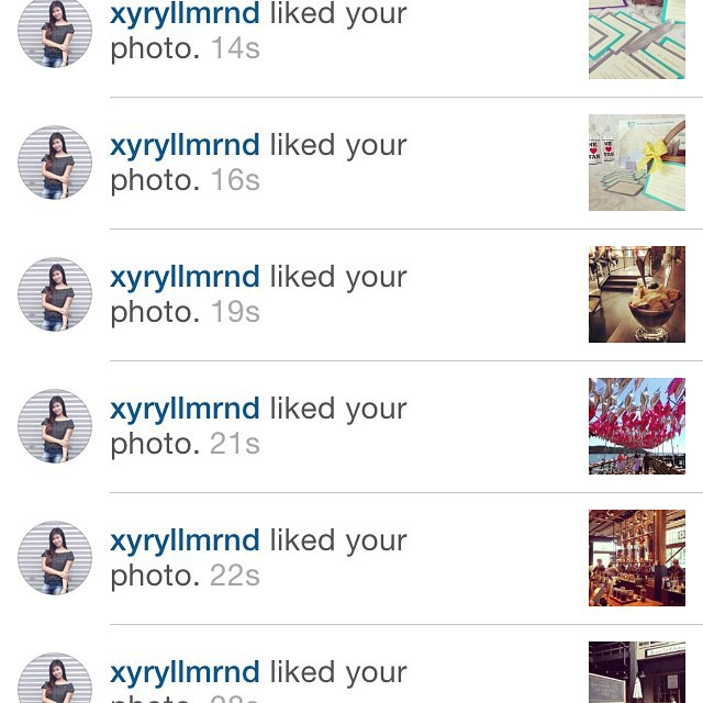 Thanks for the love @xyryllmrnd! We're so happy you're loving our pictures! #shoutout