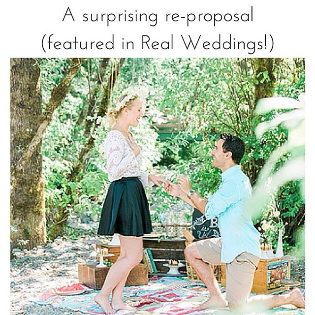 New #blog post! A Surprising Re-Proposal as featured in @realweddings! Read a bit about it here and the full details on the RealWeddings blog! [link in profile]  #engagement #proposal #redo #romance #love #Vancouver #ProposalPlanning