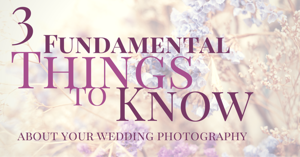 3 Things about Seattle Wedding Photography