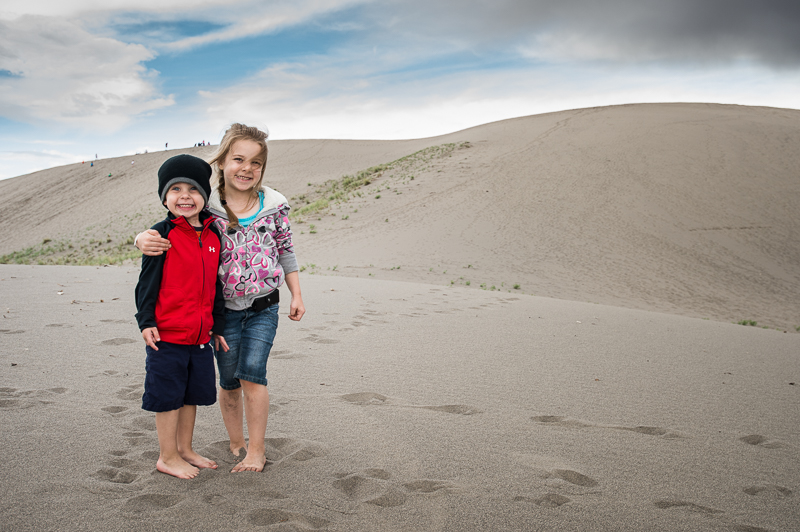 More sand than they know what to do with - Bruneau Dunes State Park, ID