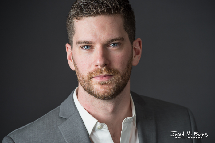 Seattle & Snohomish Business Headshot Photographer, Jared M. Burns - Guy close up