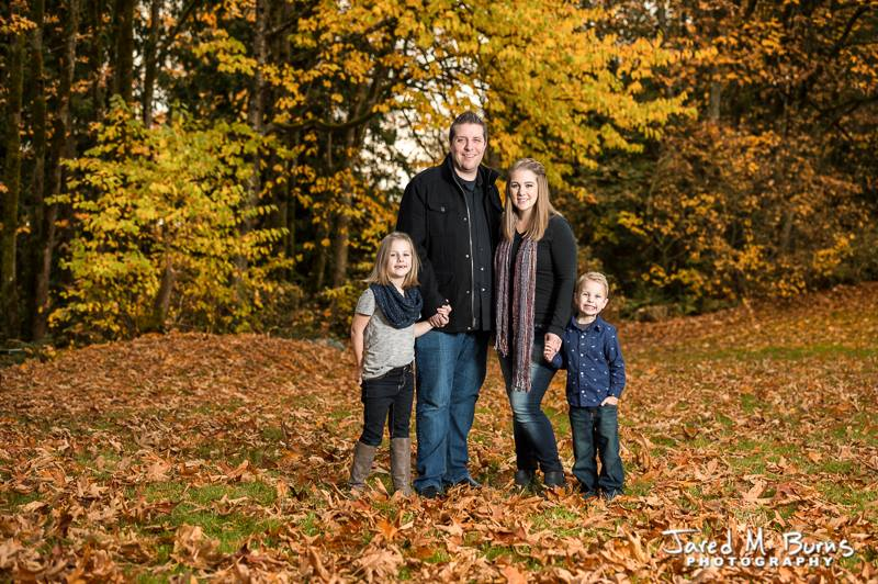 Jared M Burns Photography - Snohomish Fall Family Portrait with Kids.jpg