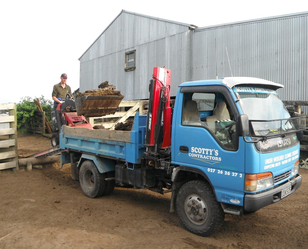 Loading onto the truck