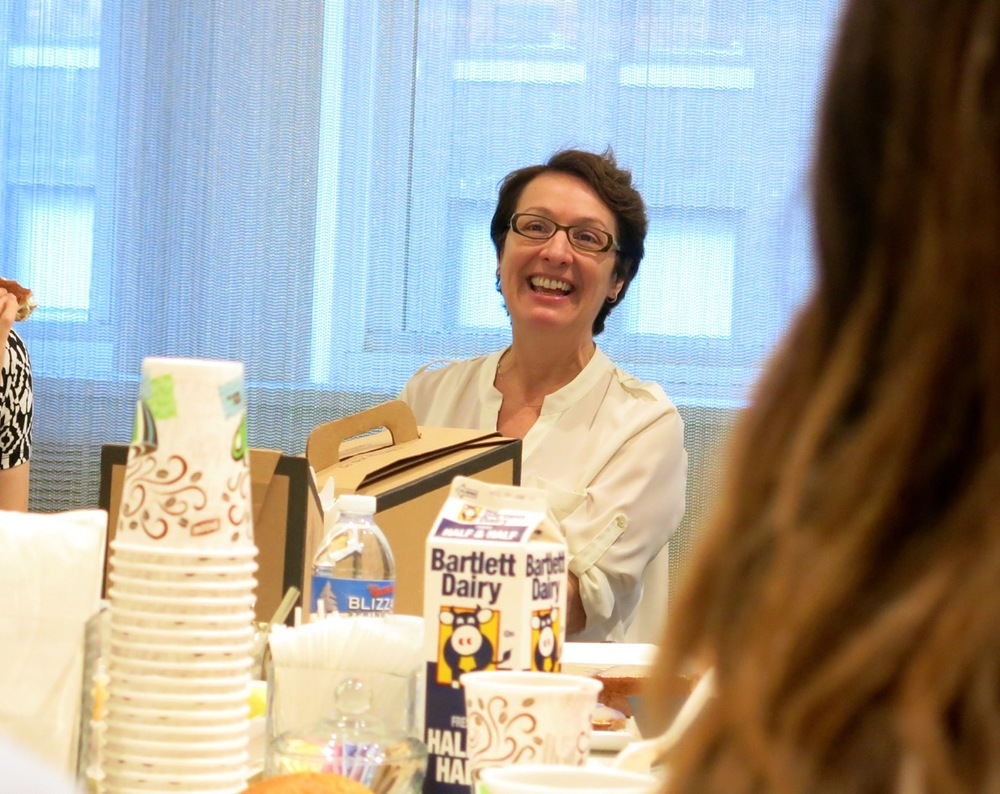 "Colleen's Motto: ""Candor with Kindness""  Colleen explained how during a turnaround, it can be difficult to strike a balance between being direct and upfront with your point of view while also remaining kind and composed. She explained, ""People will learn from you and respect you without you telling them that they are less than."""