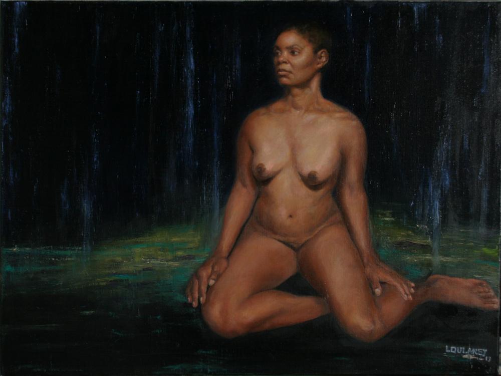 Linda's painting of Lury 2013