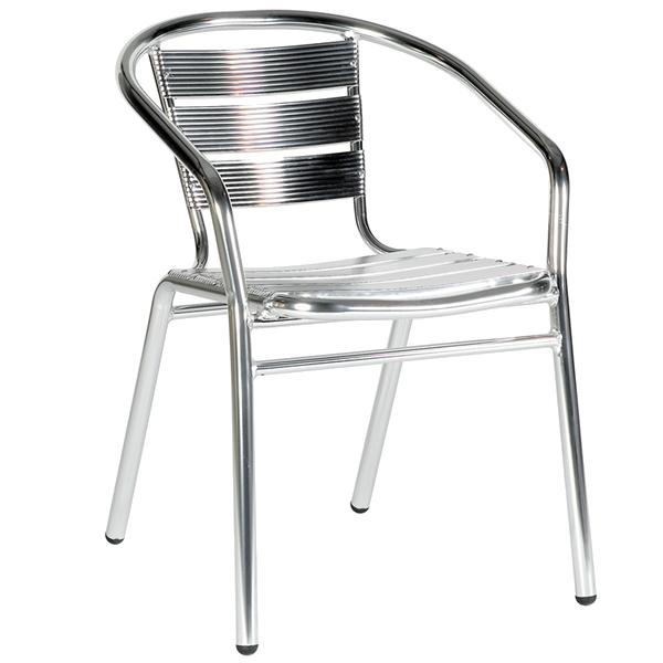 Bistro Armchair Aluminium.png