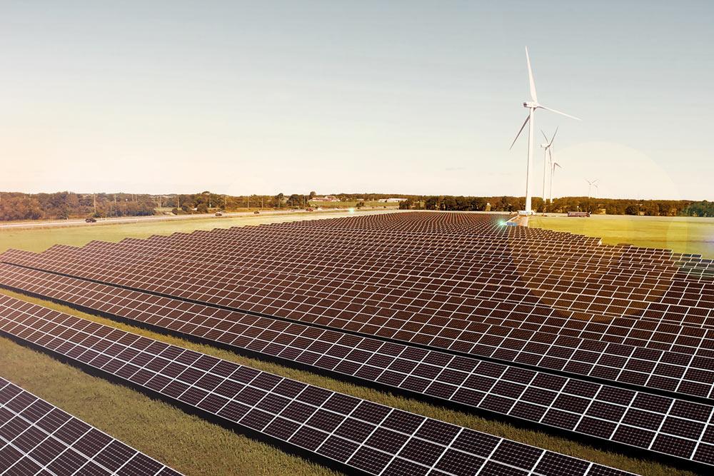 Solsidan, Varberg Energi  Solparken Solsidan med sina 2,7 MW var länge Sveriges största solpark innan stafettpinnen togs över av Nya Solevi, se till vänster. Parken ligger längs med E6an i höjd Tvååker och är byggd på en yta om drygt sex hektar. Paradisenergi projekterade och handlade upp parken som driftsattes i juli 2016. Läs mer   här.