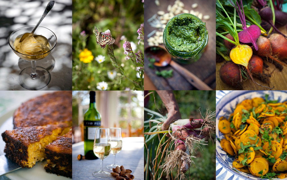 Food and travel photography by Tim Clinch at Finca Buenvino in Andalucia, Spain