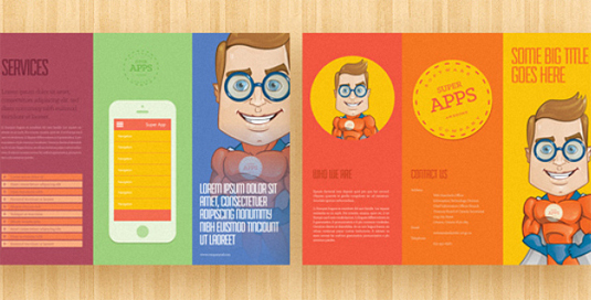 Of The Best Brochure Templates For Designers  Warwickshire
