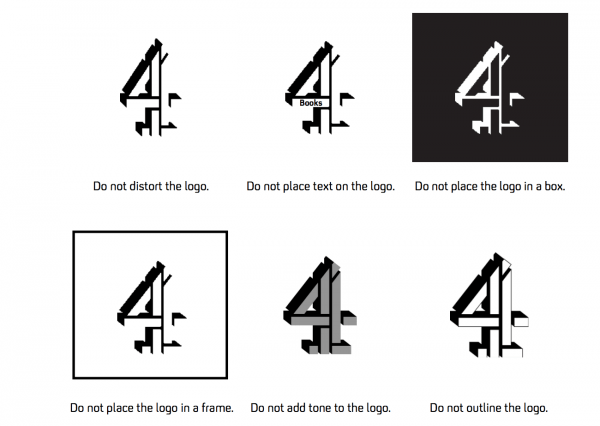 channel 4 logo graphic designer