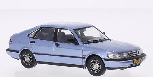 T9-43068  Saab 900 V6 1994, zilverblauw, Triple9