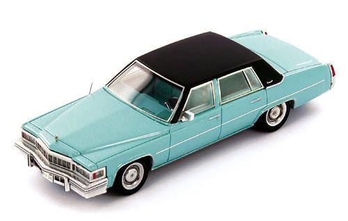 PR0170  Cadillac Deville Sedan 1977, blauw PremiumX