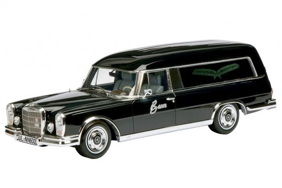 450007600  Mercedes-Benz 600 Bestattungswagen, Schuco