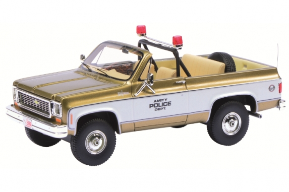 "Chevrolet Blazer ""Amity Police Department, Jaws Movie"", Schuco"