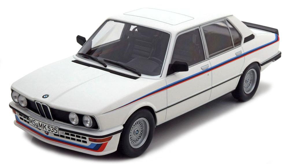 183265  BMW M 535i 1980, wit, Norev