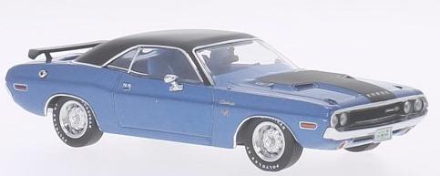 PRD406J  Dodge Challenger R/T 1970, blauw, PremiumX