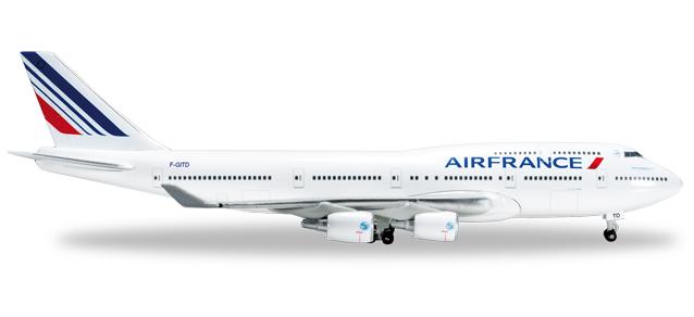 "523271-001  Boeing 747-400 ""Air France"", ""Last 747"""