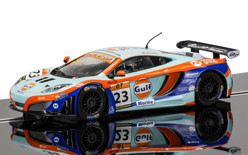 3715  McLaren 12C GT3 Macau GT Cup 2014, Scalextric