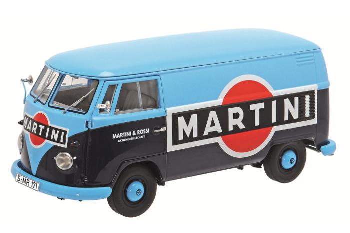 "450028500  Volkswagen T1b ""Martini"", Schuco"