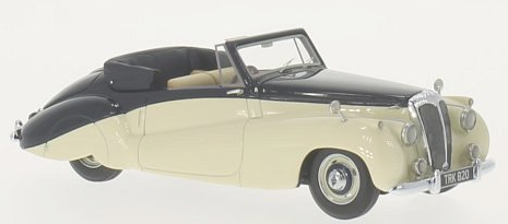 46820    Daimler DB18 Special Sports by Barker, beige/donkerblauw, Neoscale Models