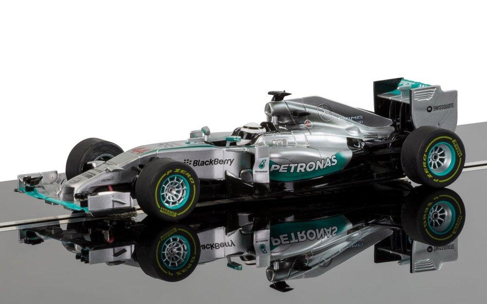 3593A  Mercedes F1 W05 Hybrid, Lewis Hamilton 2014, Scalextric