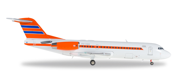 "557948    Fokker 70 ""Netherlands Government"""