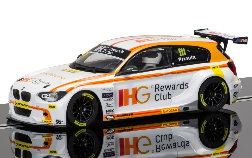 "3784    BMW 125 Series 1 BTCC ""BTCC 2015"", Scalextric"