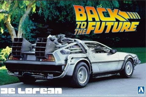 01185    DeLorean Back To The Future I