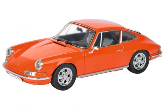 450035300  Porsche 911 S Coupé, 1973, oranje, Schuco