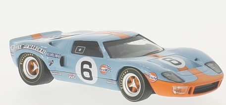 WBR001    Ford GT40, Gulf, J.Ickx/J.Oliver, Whitebox (B)
