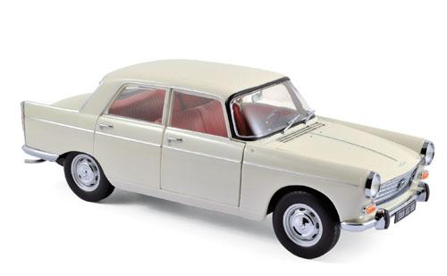 184870  Peugeot 404 1965, Djibouti Ivoor, Norev