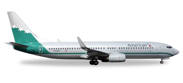 "529372    Boeing 737-800 ""American Airlines, Reno Air Heritage Livery"""