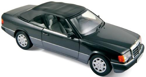 183566  Mercedes-Benz 300 CE-24 Cabriolet 1990, zwart, Norev