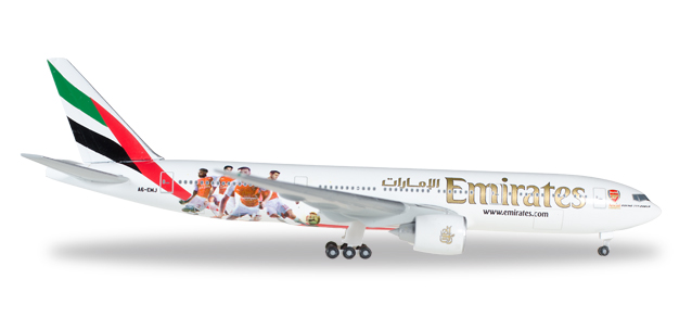 "529235    Boeing 777-200LR ""Emirates, Arsenal"""