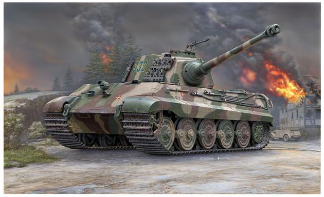 3249  Henscel Turret Tiger II Ausf. B