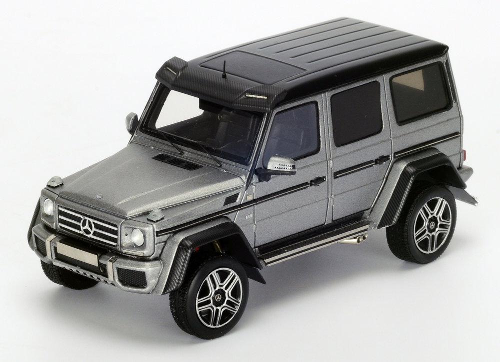 S4909  Mercedes-Benz G550 4x4², grijs, Spark