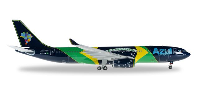 "557238  Airbus A330-200 ""Azul, Brazillian Flag"""