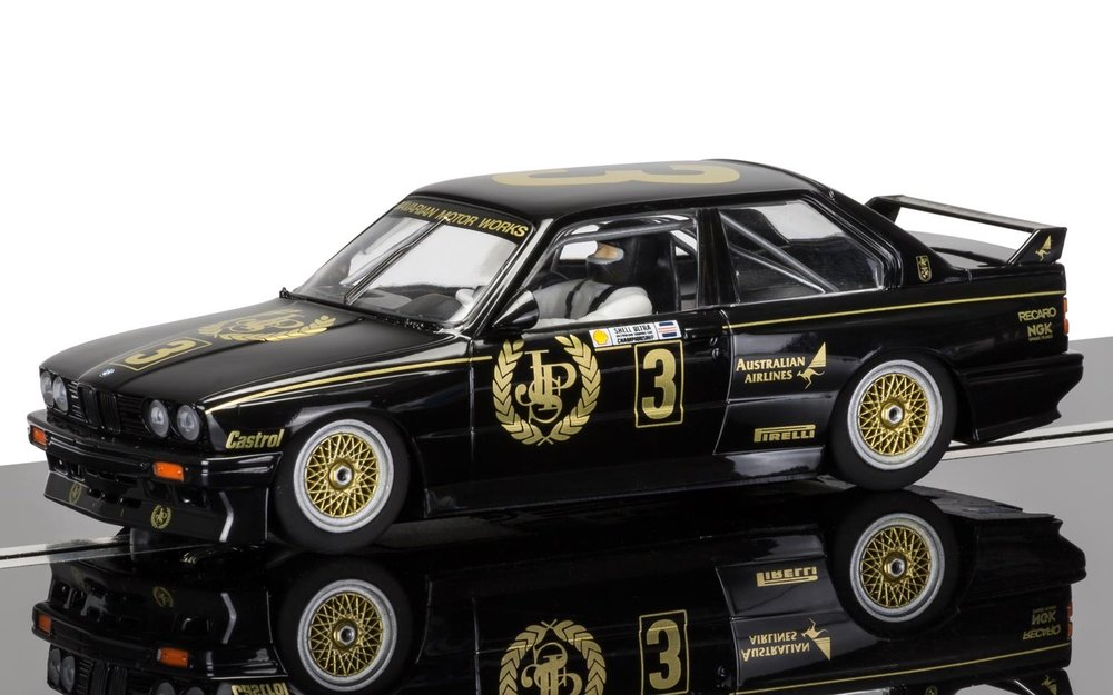 "3757    BMW M3 E30 ""1987 Australian Touring Car Champion"", Scalextric"