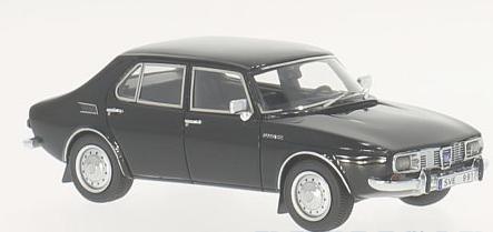 43679  Saab 99, zwart, Neoscale Models