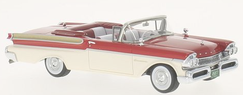 45877    Mercury Turnpike Convertible, rood/wit, Neoscale Models