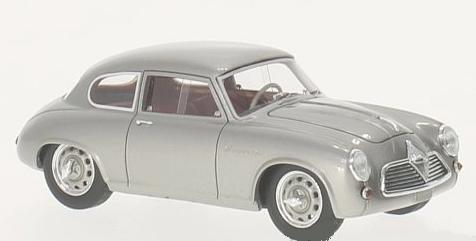 46210  Borgward Hansa 1500 Sportcoupé, zilver, Neoscale Models