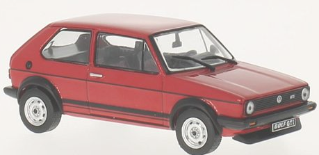 WB239    VW Golf I 1600 GTI 1976, rood, Whitebox