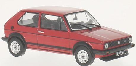 WB239  VW Golf I 1600 GTI 1976, rood, Whitebox