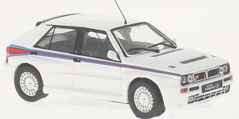"WB242  Lancia Delta Integrale ""Martini"" 1992, wit, Whitebox"