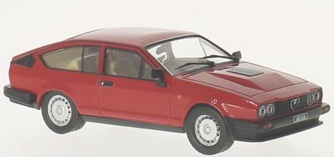 WB249  Alfa Romeo GTV6 2.5, rood, Whitebox