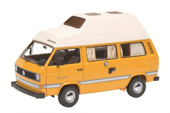 """450038500  VW T3 """"Joker"""" Campingbus met hoogdak, Schuco"""