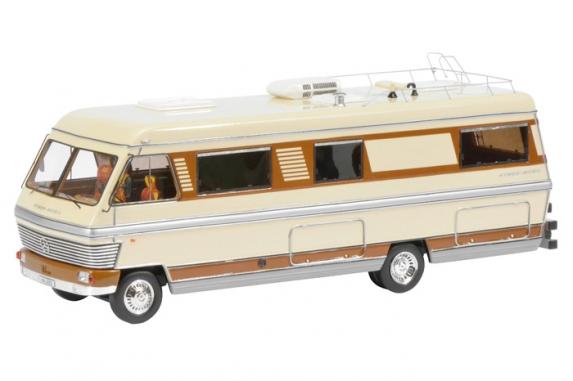 450899500  Hymermobil 900, Schuco